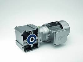 New SK 02040.1 Helical Worm Gear Unit Delivers an Output Torque up to 100 Nm