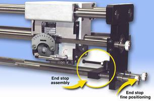 Amacoil Offers Latest Uhing Rolling Ring Linear Drives with New Control Option that Permits Precise Location of End Stops