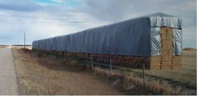 New Heavy Duty Hay Tarps are Resistant to Ultra-Violet Radiation