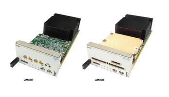 New ADC/DAC Modules Offer Signal Processing Bandwidth at over 20 TeraMACs of DSP Compute Performance