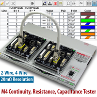 Latest M4 Low Voltage Continuity Tester Comes with Circuitry to Check Twist Pair Relationships