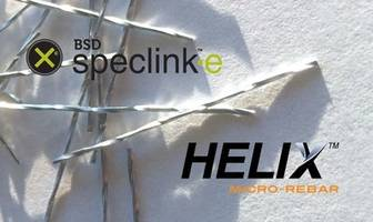 Helix™ Micro-Rebar Now Available in BSD SpecLink-E