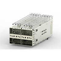 New zQSFP+ Belly-to-Belly Cages Support 56 Gbps PAM-4 Technologies