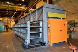 Wisconsin Oven Ships Drawer Oven to an Oil and Gas Industry Supplier