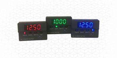 New DCM20 Series Panel Meters Come with Contactless Touch-Sensor Function Selector Switch