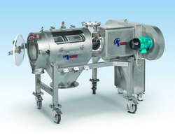New MOB-DD-SS Dual-Drive Centrifugal Sifter Enables User to Enter Speed of the Variable Feed Screw Remotely
