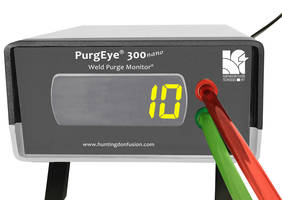 New PurgEye Nano Weld Purge Monitor Comes with Leak-Tight Connectors