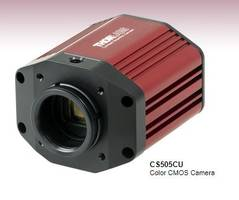 New CS505 Series Cameras Come with an Adjustable C-Mount Adapter