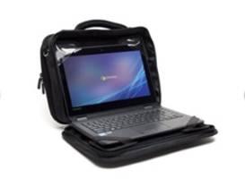 Hitek S Alumishield Laptop Case Excels In Drop Test
