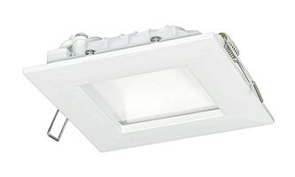 New Edge-Lit LED Recessed Dome Downlights Offer a CRI of 90