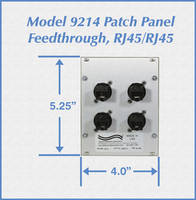 New Model 9214 Module Patch Panel Comes with Feedthrough RJ45 Ports
