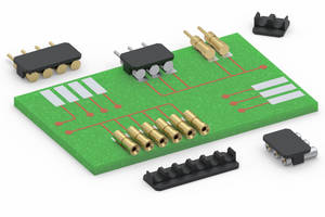 Parallel Board-to-Board Connectors Feature Removable Caps for Low Profile SMT Connections