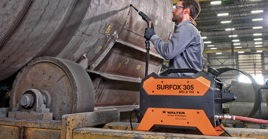 New SURFOX 305 Weld Cleaning System Features a Built-In Vapor Dispersion System