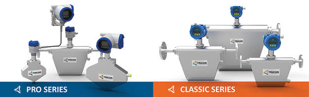 AW-Lake Company and KEM Expand the TRICOR Line of Mass Flow Meters with the TCD 9000 Series Transmitters
