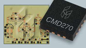 Custom MMIC Introduces New Low Noise Amplifier and Phase Shifter with 50 Ohm Matched Design