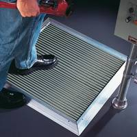 New Pressure-Sensitive Safety Mats Come in Single-Piece Molded Construction