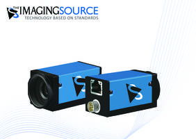 Latest GigE Color and Monochrome Industrial Cameras are Compatible with Image Processing Software Using Global Interface