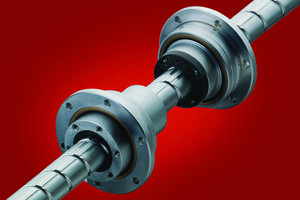 New BNS-V Ball Screw/Spline Enables Quick Starts and Stops During High-Speed Operation