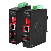 New Industrial PoE+ Media Converters are Compliant to 802.3at Standards