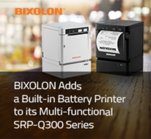 New SRP-Q300 Series Thermal Printers Deliver Print Speeds Up to 220 mm/sec