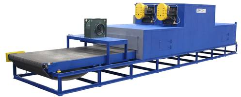 LEWCO Designs Conveyor Oven for Industrial Roofing Manufacturer