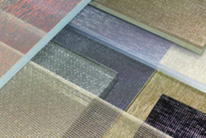 New Metalix Architectural Glass Features Eclectic Mix of Shimmering Interlayers