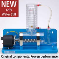 New QWS4 120V Water Still Offers Distillate Conductivity of 3.0-5.0uS/cm
