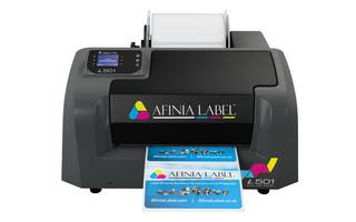 New Afinia L501 Color Label Printer Offers Resolution of Up to 2400 dpi