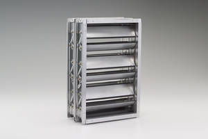 Latest TED40x2 Control Damper Comes with Insulated Airfoil Blades