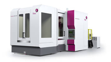New Cincinnati HMC 800 Machining Center Can be Used in 5-Axis 5-Sided Complex Part Manufacturing