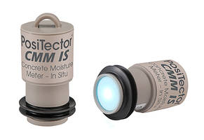 New PosiTector IS Concrete Moisture Meter Comes in Combined Sleeve and Probe Design