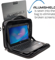 New Rugged Laptop Case Comes with Movable PERFECT FIT Corner Pockets