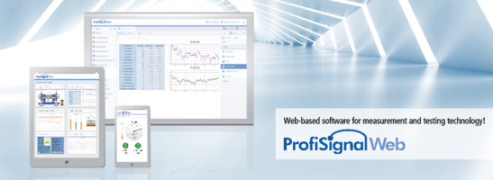 New ProfiSignal Web Software Offers Location Independent Access to Live and Historical Data