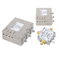 Pasternack Introduces SPDT High-Power PIN Diode RF Switches with Input Power Handling and Isolation