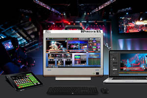 IBC 2018: Broadcast Pix Introduces BPswitch RX Mobile Integrated Production Switcher