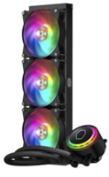 New MasterLiquid ML360R  CPU Cooler Available with LED Color Customizing Options
