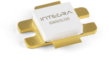 New Avionics Transistor from Integra Technologies Features 120W Peak Output Power