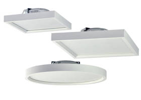 New Surf LED Celing Fixture from Nora Lighting is Easily Installed