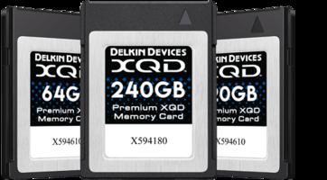 New 2933X XQD Memory Cards Use 2nd Generation PCI Express Interface