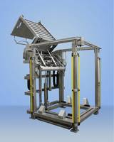 New Hydraulic Lift and Dump Container Features Custom Container and Pallet Retention System