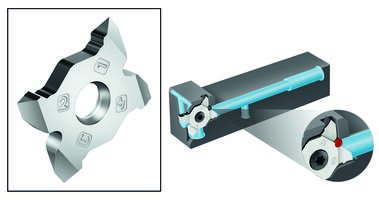 New A60/AG60 Cut MX Indexable Inserts are Designed for Small to Medium Pitch Threads
