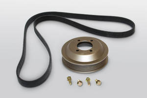 New Aluminum Water Pump Pulleys Feature More Robust Construction