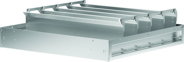 New Stainless Steel Backdraft Dampers are Rated for Velocities Up to 2,500 fpm