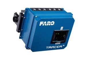 Faro Now Offers Tracer Scanning Laser Projection System with In-Process Verification