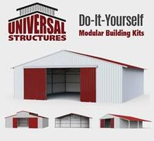New DIY Modular Metal Building Kits are Offered with Gable or RCA Roof Type