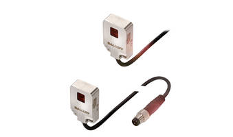 Balluff Now Offers Flat-Pack Photoelectric Sensors in IP67/IP69K Rated Stainless Housing