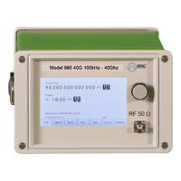 Saelig Offers Model 865 Microwave Signal Generators with Touch Panel Display