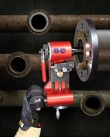 Latest Esco Flange Hog 110 Facer Features Two Interchangeable Cross Feeds