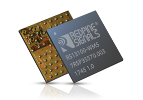 RS13100 Microcontroller Module from Redpine Can Run Up to 180 MHz