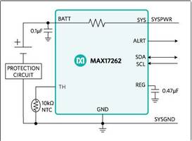 Latest Maxim Battery Fuel-Gauges are Embedded with ModelGauge m5 EZ Algorithm